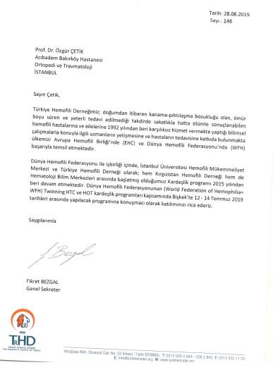 Kırgızistan-Hemofili-Toplantısı-Davet-Mektubu